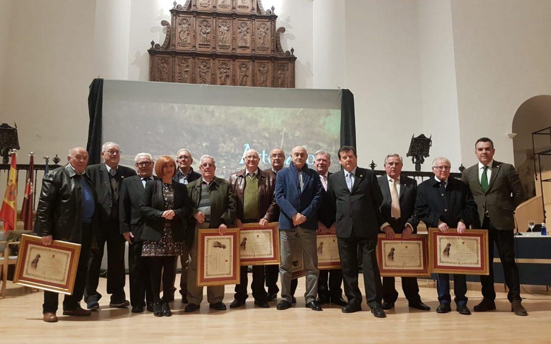 Acto de homenaje a los artesanos mayores