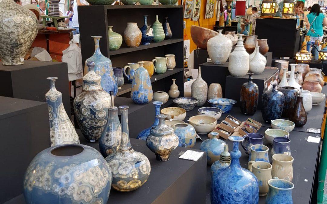 Alameda y Góngora embajadores de la cerámica ubetense en Zamora