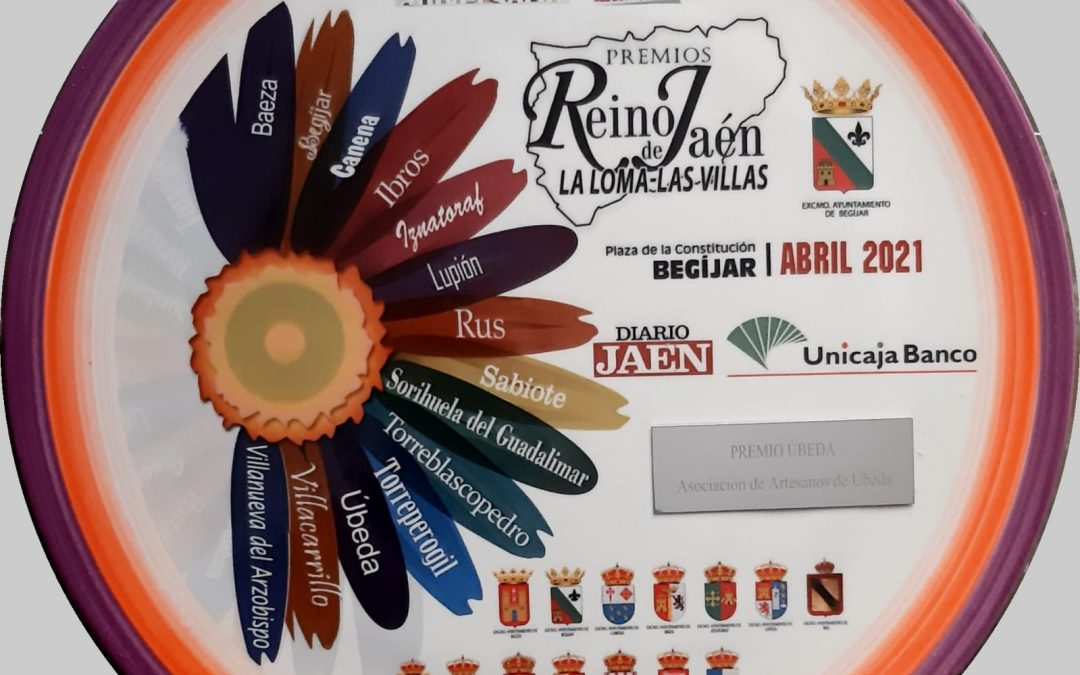 Nuestra Asociación recibe el Premio Reino de Jaén